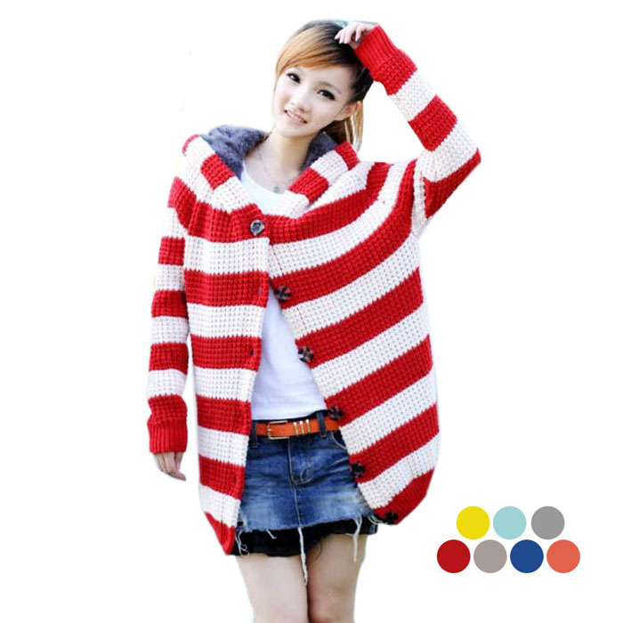 Top quality Relax pregnant women Hooded Sweater coat cardigans stripped clothes maternity nutrition stripped