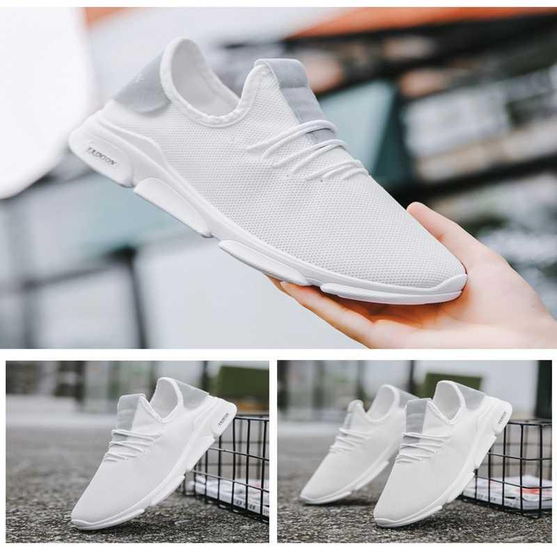 2019 Mode Zomer Mannen Vulcaniseer Schoenen Loopschoenen Voor Mannen Casual Comfort Sneakers Mannelijke Footwears Lace-up Tenis Masculino