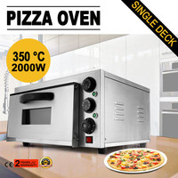 Modern Design Pizza Oven Single Deck Electric 2kW Baking Commercial