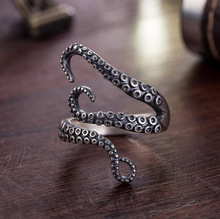 Adjustable Ring BINQINGZI BRAND Punk Ring Man Christmas Gift