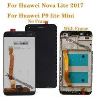 5.0'' Original For Huawei Nova lite 2017 LCD Display Touch Screen Digitizer Assembly for P9 Lite mini LCD SLA L02 L22 L03|Mobile Phone LCD Screens| |  -