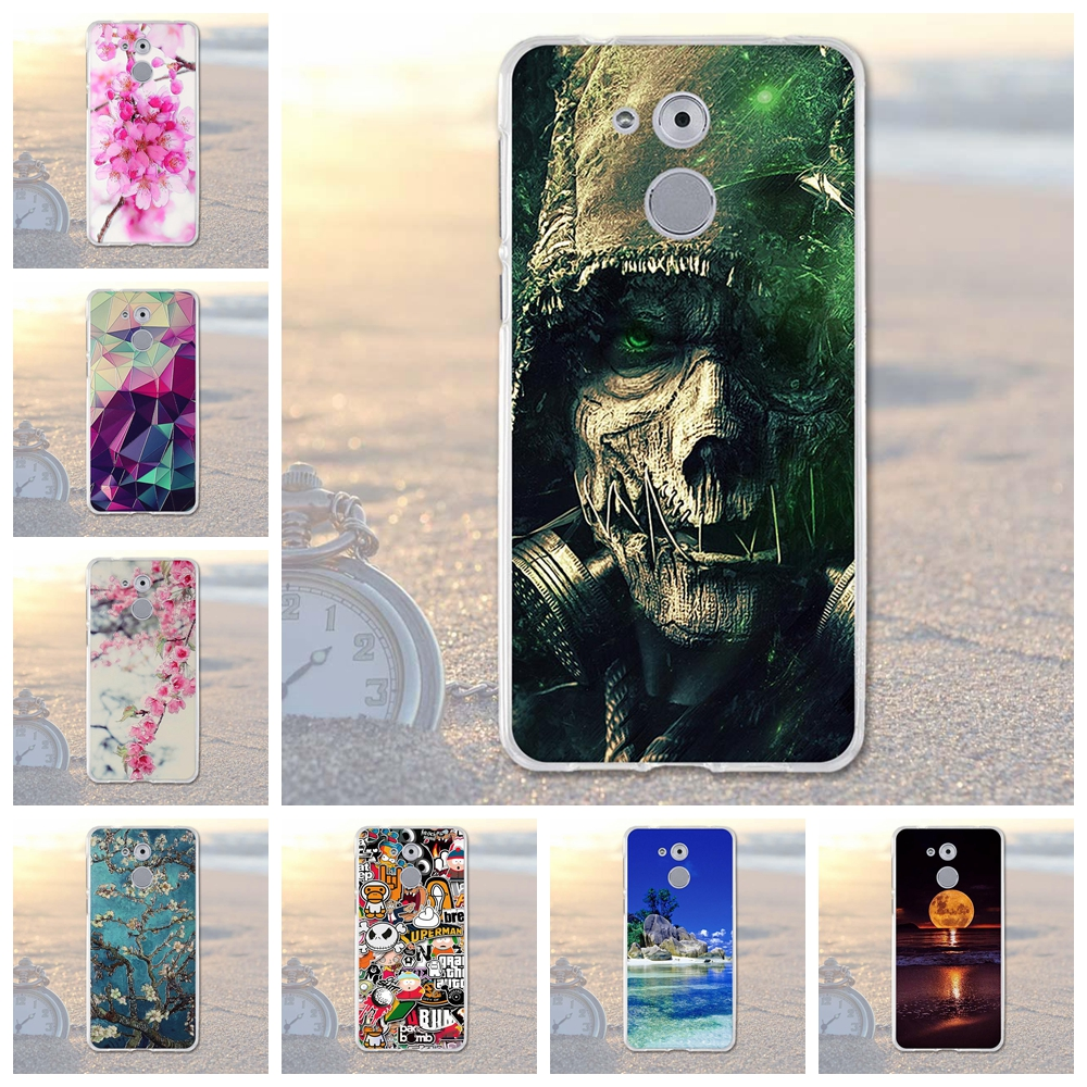for Huawei Enjoy 6S Honor 6C Case Luxury 3D Relief Printing Back Cover for Huwawei Enjoy 6s 6 S Case Honor 6C Nova Smart Coque