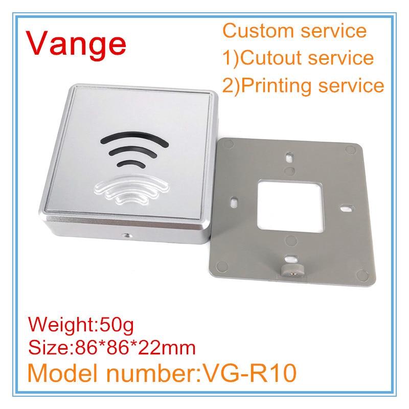 1 Teile/los Formenbau Wifi Router Projekt Box 86*86*22mm Abs Kunststoff Gehäuse Fall Diy Gehäuse Für Signal Launcher Produkt