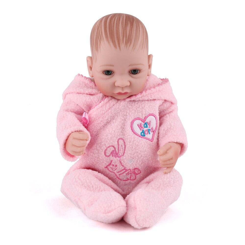Dolls Npkdoll Reborn Babies Silicone Girl 25cm Dolls For Children Diy Baby Toy Realistic 10 Inch Princess Toys Handmade Vinyl Doll Dolls & Stuffed Toys