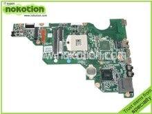 Carte Mère d'ordinateur portable pour HP CQ58 650 Intel DDR3 687702-001 Carte Mère Livraison Gratuite