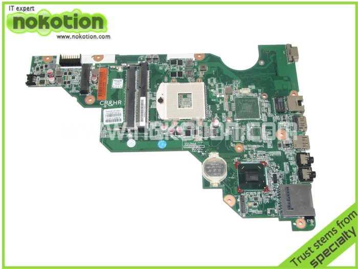 Laptop font b Motherboard b font for HP CQ58 650 Intel DDR3 687702 001 Mainboard Free