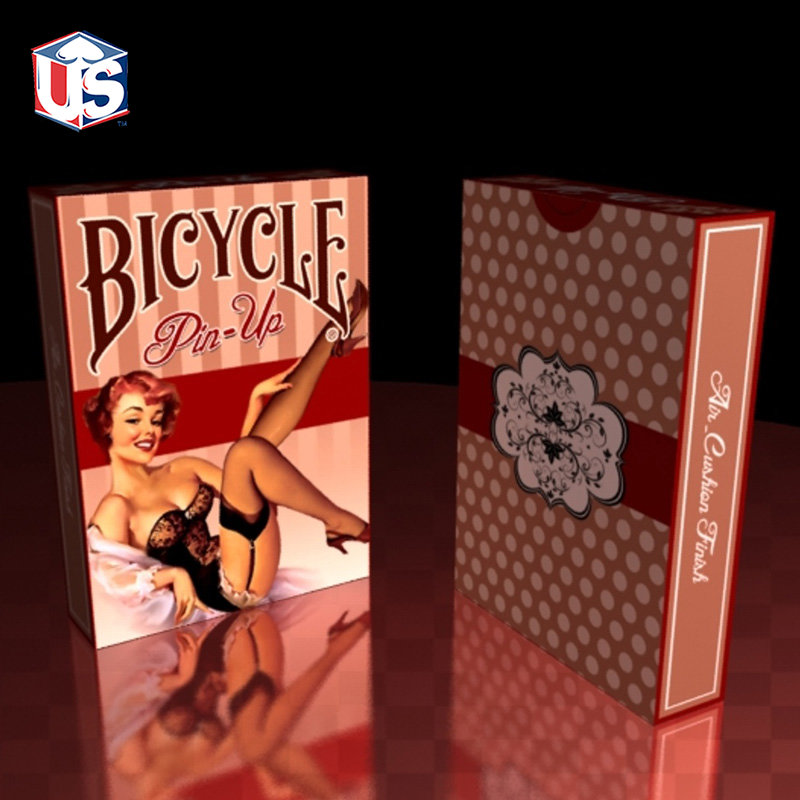 1 Deck Pin-Up Deck Bicycle Playing Cards Poker Size USPCC Limited Edition Sealed Pin Up Sexy Girl Magic Tricks Magic Props 81404