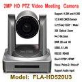 USB3.0 de Reunião de Conferência IP Câmera PTZ Onvif 2MP 20X Zoom Automático de Vigilância de Alta definição 1920x1080 P 60Fps Real tempo de Segurança
