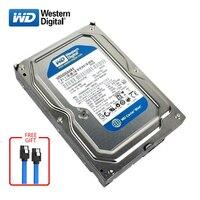 WD синий Марка 500 Гб встроенной жесткий диск 3,5