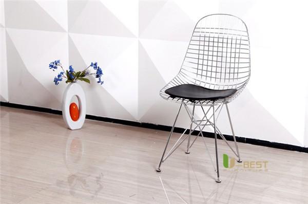 Eames Eiffel DKR Wire Chair Black-1