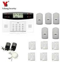 Freeship 10A Tri Band Antenna Wireless GSM Alarm Wireless GSM SMS Home Burglar Intruder Alarm Automatic