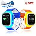 Inteligente telefone do relógio do bebê Q90 touch screen Wifi Chamada SOS GPS rastreador para As Crianças em Segurança de alarme Anti-Perdido lembrete PK Q50 Q100 criança relógio