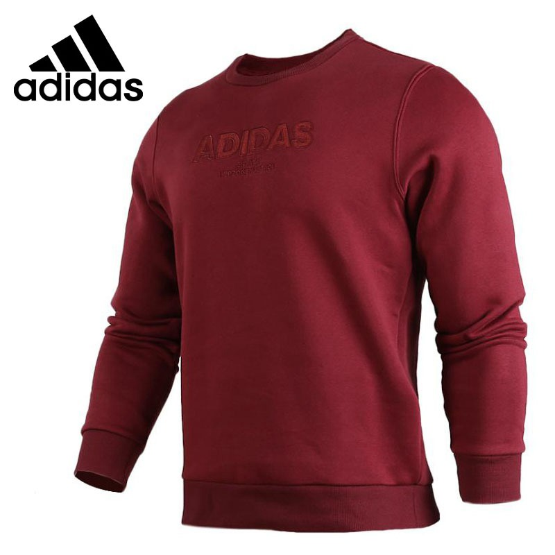 Original New Arrival 2018 Adidas  ESS ALLCAP CREW Mens Pullover Jerseys Sportswear Original New Arrival 2018 Adidas  ESS ALLCAP CREW Mens Pullover Jerseys Sportswear