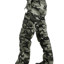Tactical Pants Male Camo Jogger Casual Plus Size Cotton Trousers Multi Pocket Military Style Army Camouflage