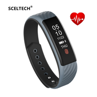 SCELTECH W810 Smart Bracelet Heart Rate Monitor Pedometer Sleep Tracker Smart Band Fitness Tracker For Android
