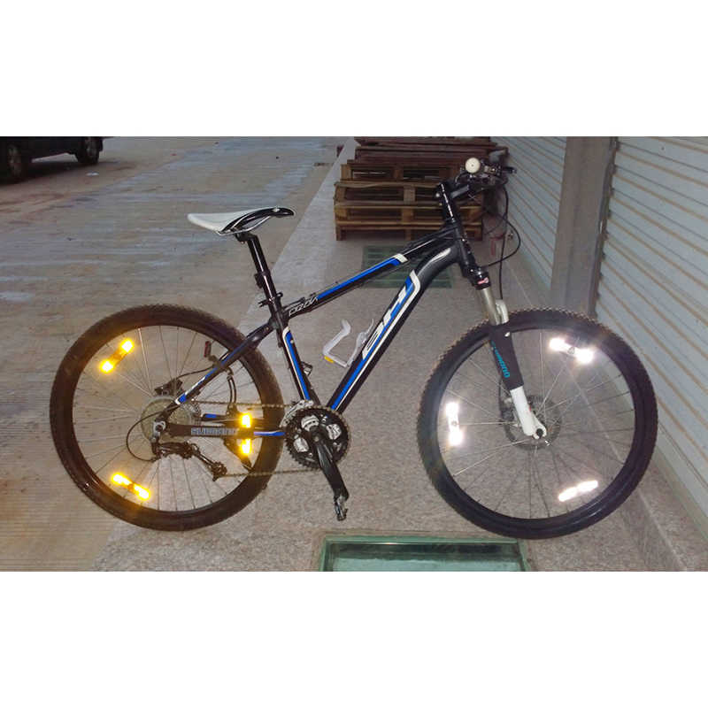 12St Fahrrad Mountainbike Felgenspeichen Clip Reflektor O3A8 Warnung G5G3 Z H7Z4