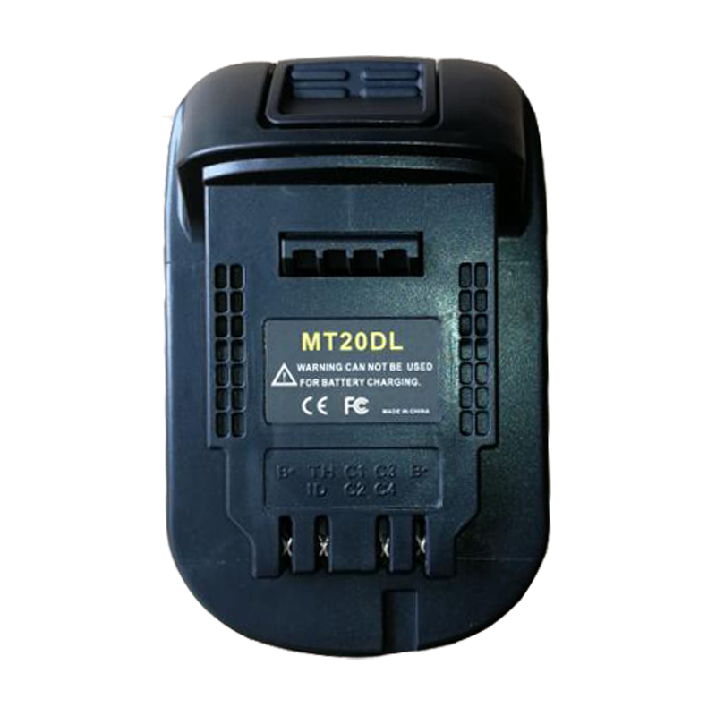 MT20DL Converter Adapter USB Charger For DeWalt Tool Convert Makita 18V Li-ion Battery BL1830 BL1860 BL1815 To DCB200