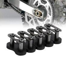 5 комплектов 415 соединительных звеньев цепей 2-тактный моторизованный велосипед детали для газового двигателя Motocicleta Аксессуары для мотоциклов