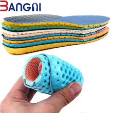 3ANGNI 1 Pair Shoes Accessories Breathable Soft Light Insoles Memory Foam Sport Arch Support Insert Woman Men Feet For Running