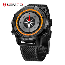 LEMFO Smart Watch LEM6 Android 5.1 Reloj Teléfono 1GB + 16GB SIM 3G WIFI Reloj Inteligente Impermeable GPS Monitor de Ritmo Cardiaco Smartwatch MTK6580