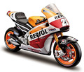 Maisto 1:18 honda rc213v repsol dani pedrosa no 26 bici de la motocicleta diecast modelo de juguete en caja