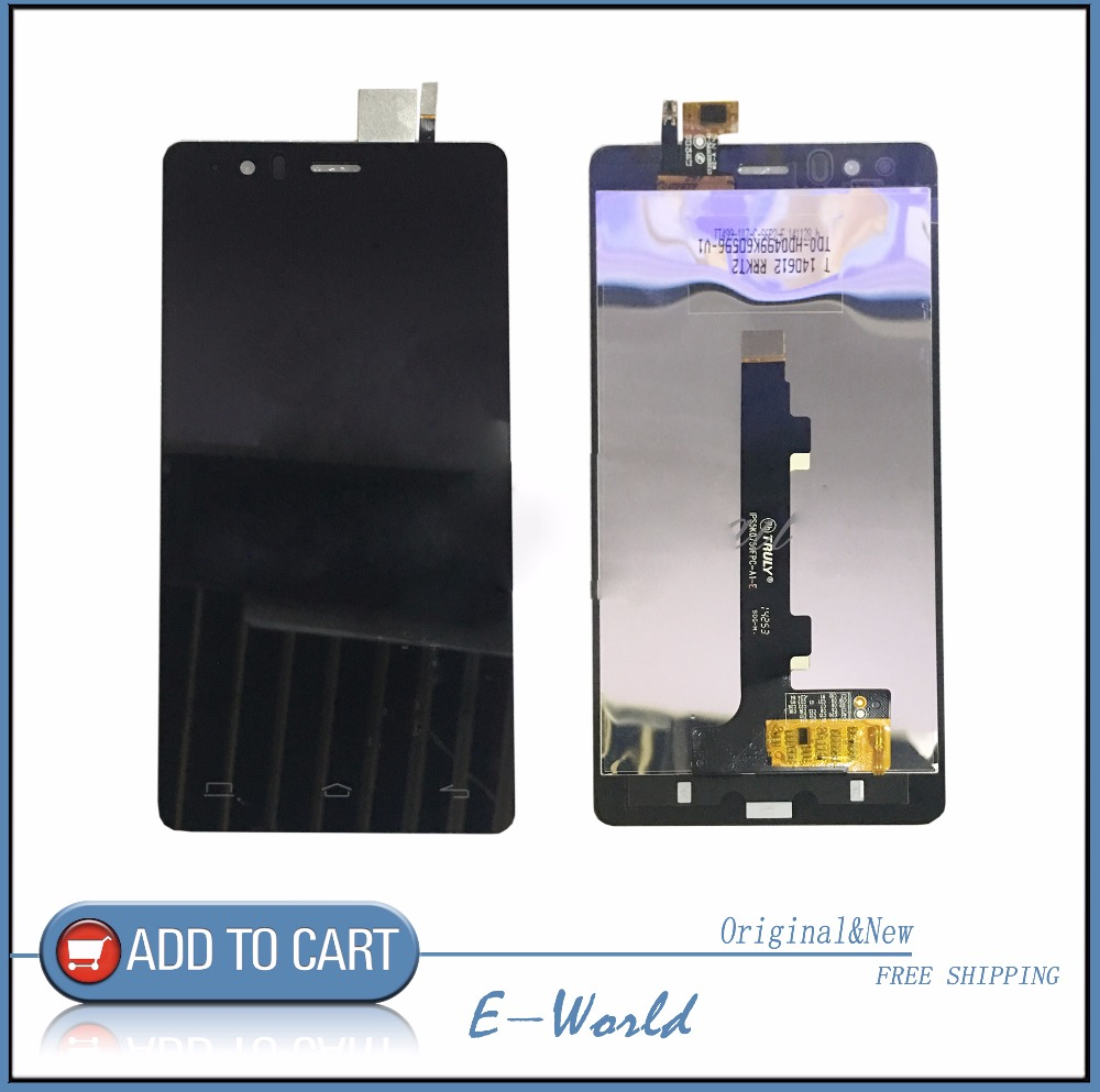 Original LCD screen with Touch Screen Digitizer For BQ Aquaris E5 HD IPS5K0759FPC-A1-E lcd Free Shipping