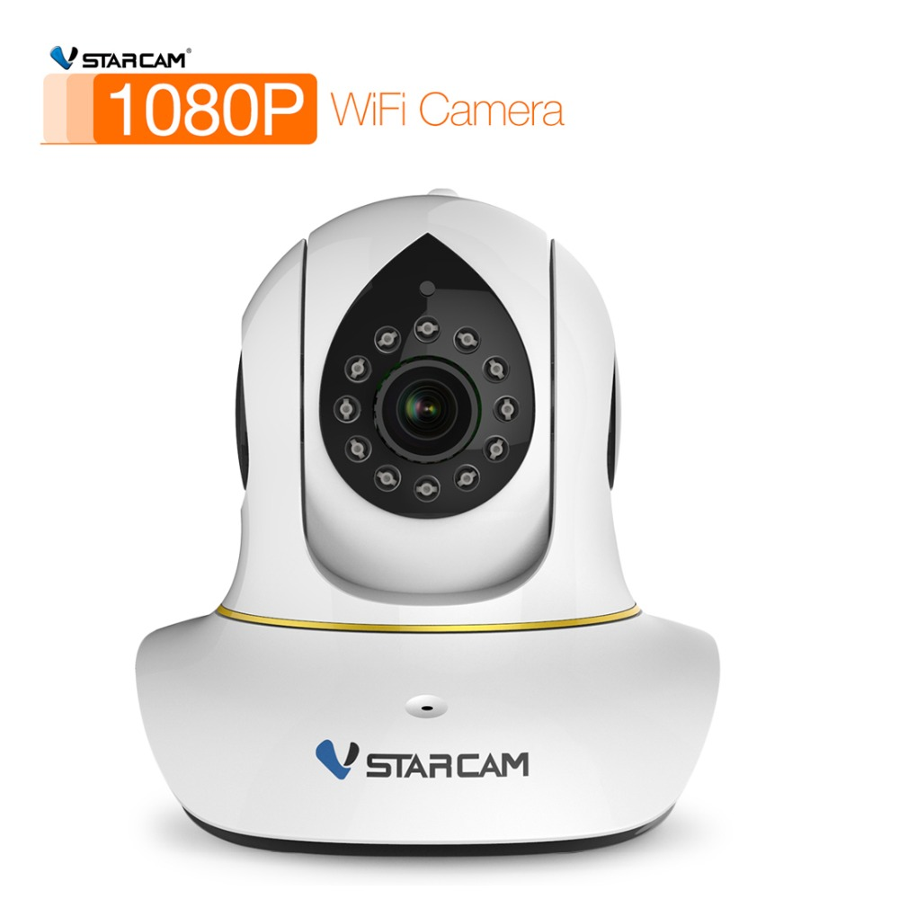 Vstarcam C38S 2.0MP FULL HD Wireless IP Camera 1080P Infrared Audio Record 128G TF Card Slot Security CCTV Indoor WebcamVstarcam C38S 2.0MP FULL HD Wireless IP Camera 1080P Infrared Audio Record 128G TF Card Slot Security CCTV Indoor Webcam