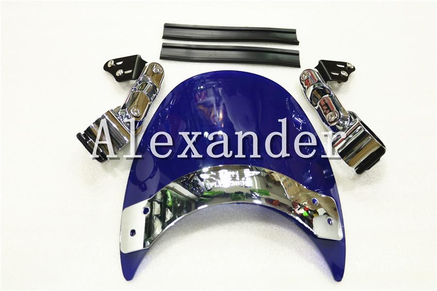 все цены на  For Suzuki S83 S50 S40 LS650 LS650P Savage GZ250 Boulevard Triumph Legend TT CH AY Windshield Windscreen S 40 50 83 LS 650 650P  онлайн
