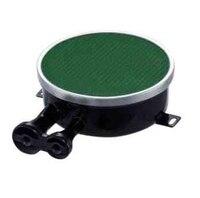 Double Pipe Side Inlet Gas Burner For Cooking Stoves 110 200 Enamelled Infrared Cooktop Burner Green