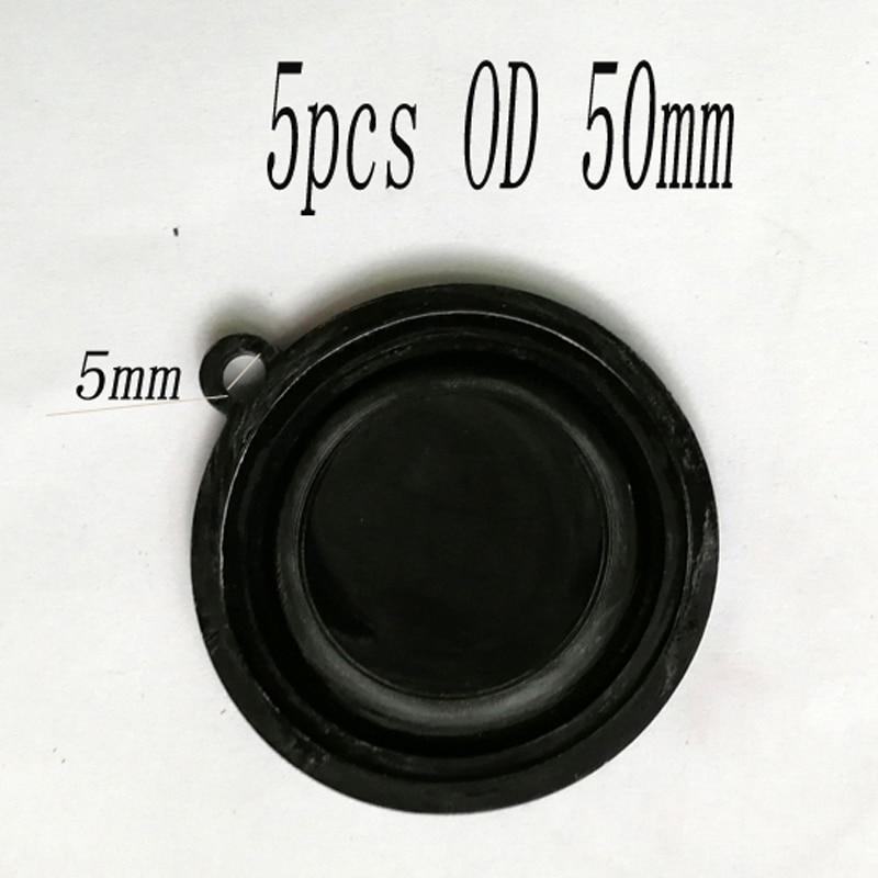 50 5 PCS OD mm Acessórios De Gás De Água do Diafragma de Pressão aquecedor de água A Gás Válvula de Ligação de Água Filme Membrana Timpânica