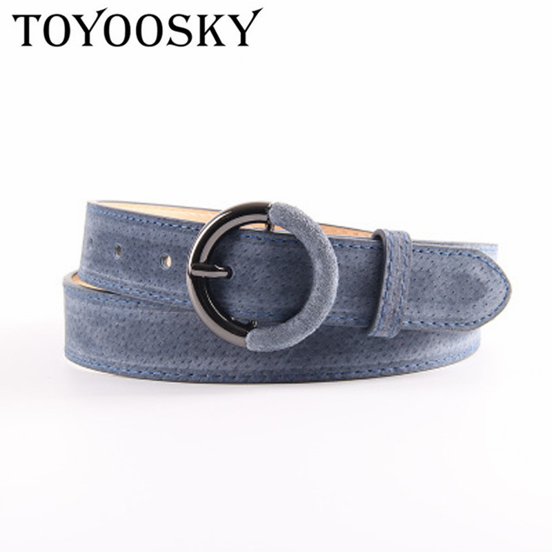 TOYOOSKY Fashion Women Belts For Korean Waist Top Quality of All Match Belt Pin Round Buckle for Party Daily Casual Belts 2019 in Women 39 s Belts from Apparel Accessories