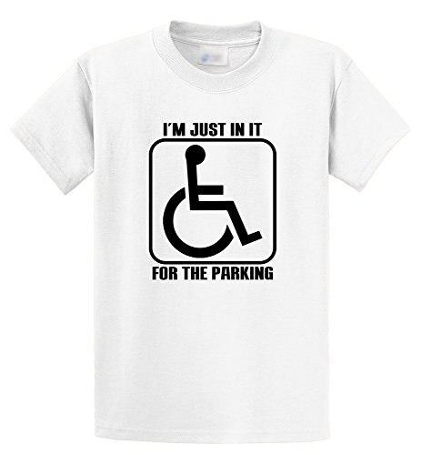 Рукава мальчик хлопок короткий рукав подарок я просто в нем для парковки гандикап экипажа Средства ухода за кожей Шеи Рубашки для мальчиков...
