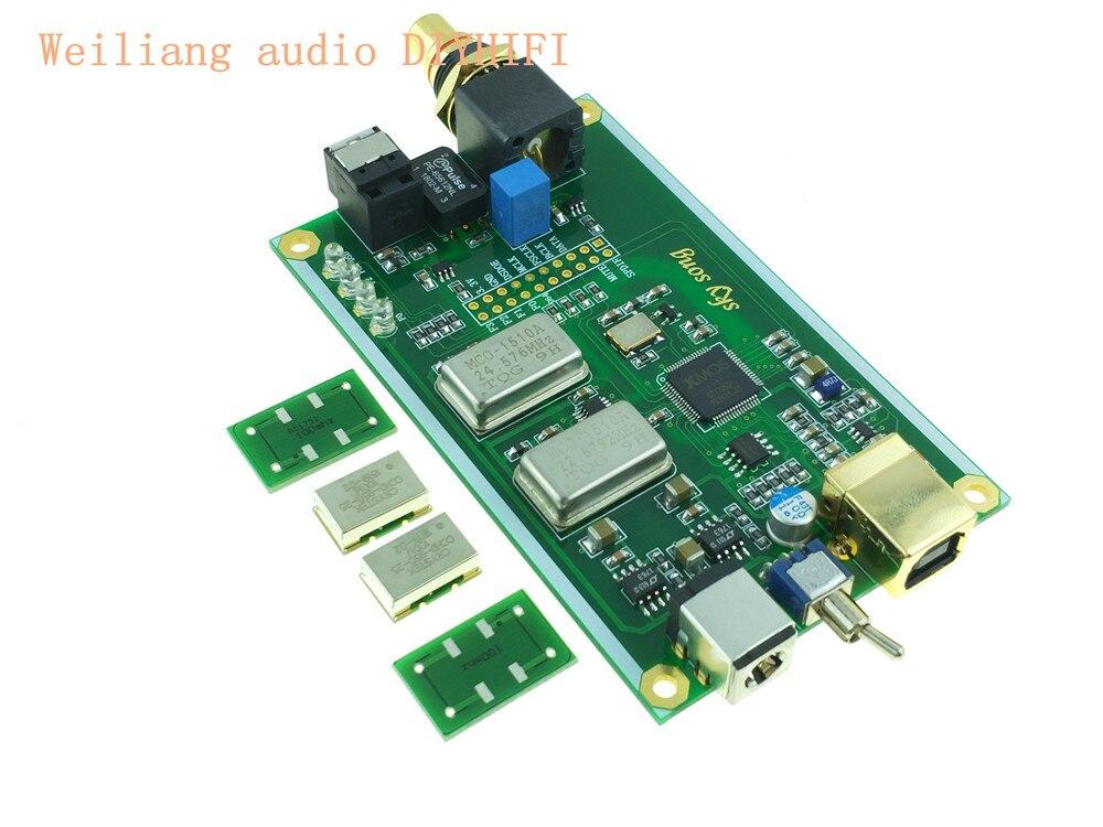 Xmos Xu208 Asynchrone Usb Koaxialen Optischen Ausgang Digital Interface Iis Dsd256 Spdif Dop64 Mit Fall Für Hifi Verstärker A6-018 Digital-analog-wandler Tragbares Audio & Video