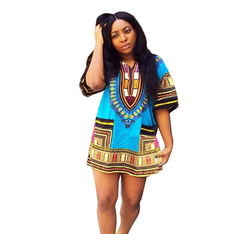Aliexpress.com : Buy 2016 New Summer Women Dashiki Dress ...