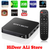 ENYBOX X3 2GB / 16GB Android 6.0 TV Box Amlogic S905X Quad-Core A53 2.0GHz Kodi 16.1 WiFi 4K H.265 Streaming Media Players