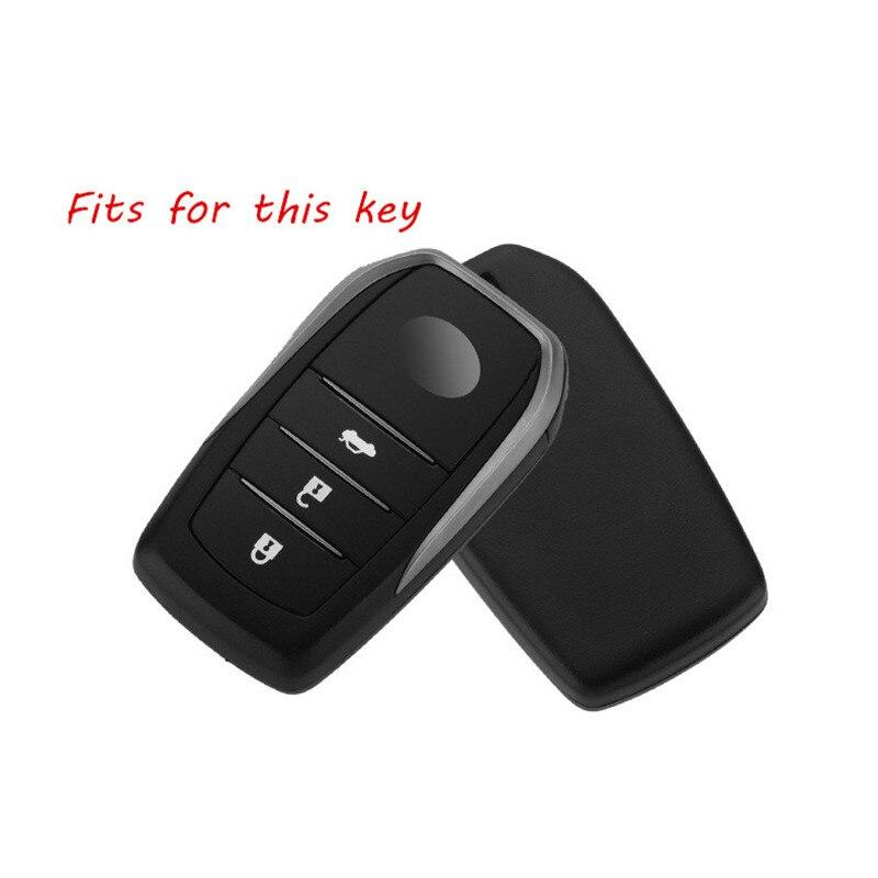 Aluminium-Alloy-Key-Cover-Case-Holder-For-Toyota-Camry-Highlander-Prado-Crown-Land-Cruiser-Prius-Vitz