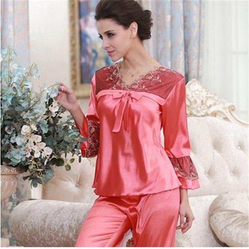 Popular Luxury Silk Pyjamas-Buy Cheap Luxury Silk Pyjamas lots ...