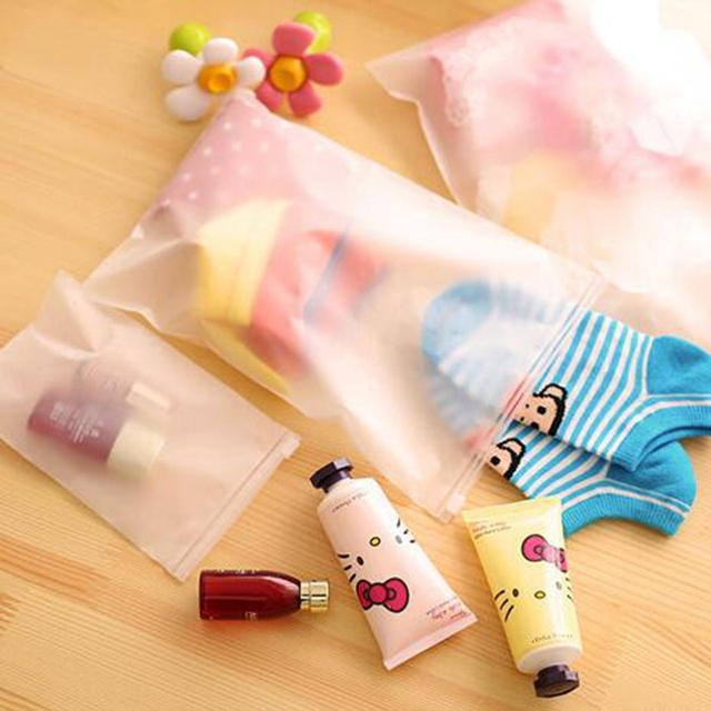 3pcs Women Transparent Travel Cosmetic Bag PVC Zipper Make Up Bag Makeup Case Necessaries Organizer Storage Pouch Toiletry Wash