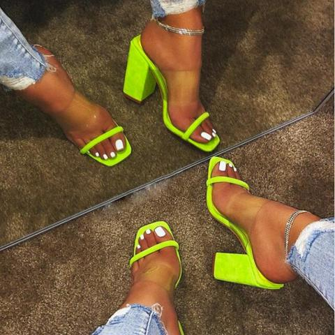 shoes woman 2019 summer sandals high heels hollow jelly shoes sexy ladies beach holiday outdoor sandals and slippers a085 Multan