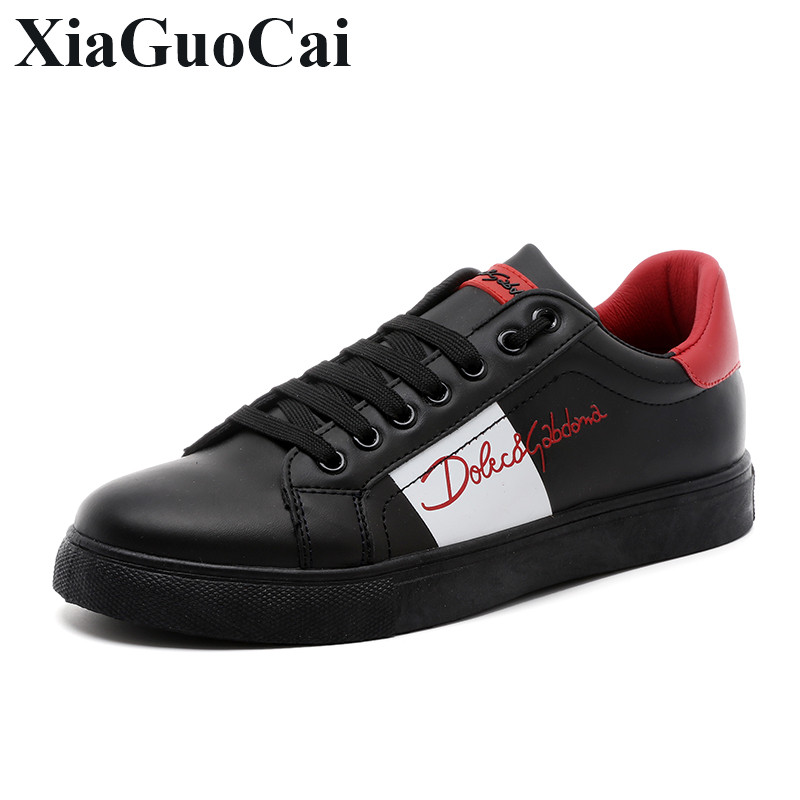 Spring New Arrival Fashion Lace-up Shoes Men Casual Shoes White&black All-match Comfortable Round Toe Flats Shoes H688 micro micro 2017 men casual shoes comfortable spring fashion breathable white shoes swallow pattern microfiber shoe yj a081