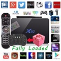 Chycet X92 S912 Amlogic 2G/16 GB Android 6.0 Smart TV Box Octa Core BT 4.0 2.4/5.8G Wifi 1000 M 4 K H.265 Decodificador + keyaboard