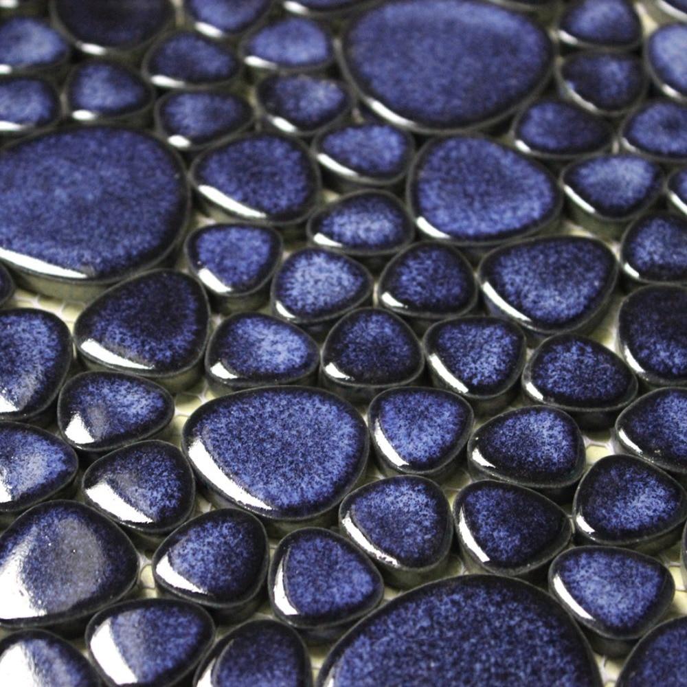 Aliexpress.com : acquista mosaici di ghiaia porcellanato smaltato ...