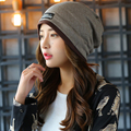 2016 High Quality Warm Wool Caps Knitted Beanies Hat Infinity Scarf Winter Skullies Cap For Woman and Men Warm Beanie Casual