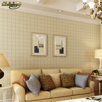 Papel De Parede England Grid High End Environmentally Pure Paper Wallpaper Bedroom Living Room TV Wall