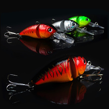 14G 8.5CM Fishing Lures Minnow Crank Bait Crankbait Bass Tackle Treble Hook bait wobblers fishing japan free shipping