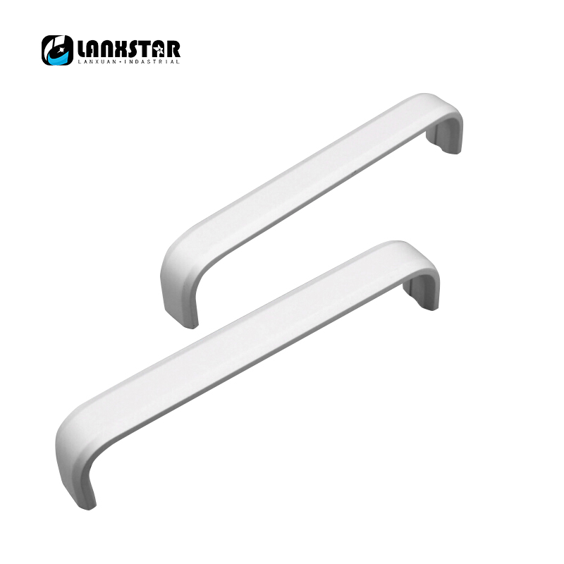 Aluminum Alloy Handle Wardrobe Cabinet Drawer Pull Handle Space Aluminium Solid Matte U Style Thickening Handles