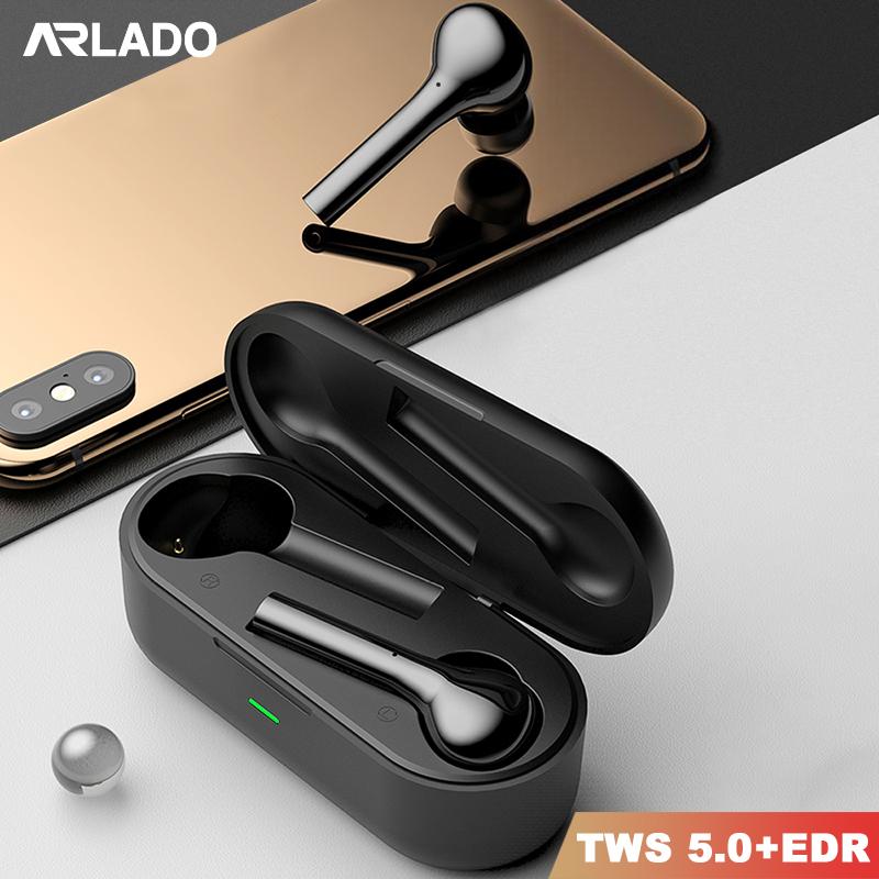 Arlado 5.0 Wireless Bluetooth Earphones JS18 Waterproof Noise Reduction Earbud 3D Stereo Sports Gaming Headset for IOS Android