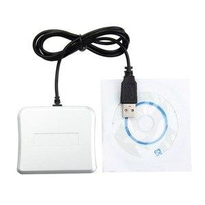 Image 4 - Łatwe komunikacji USB czytnik kart inteligentnych IC/czytnik dowodów osobistych wysokiej jakości Dropshipping PC/SC czytnik kart inteligentnych dla systemu Windows system operacyjny Linux