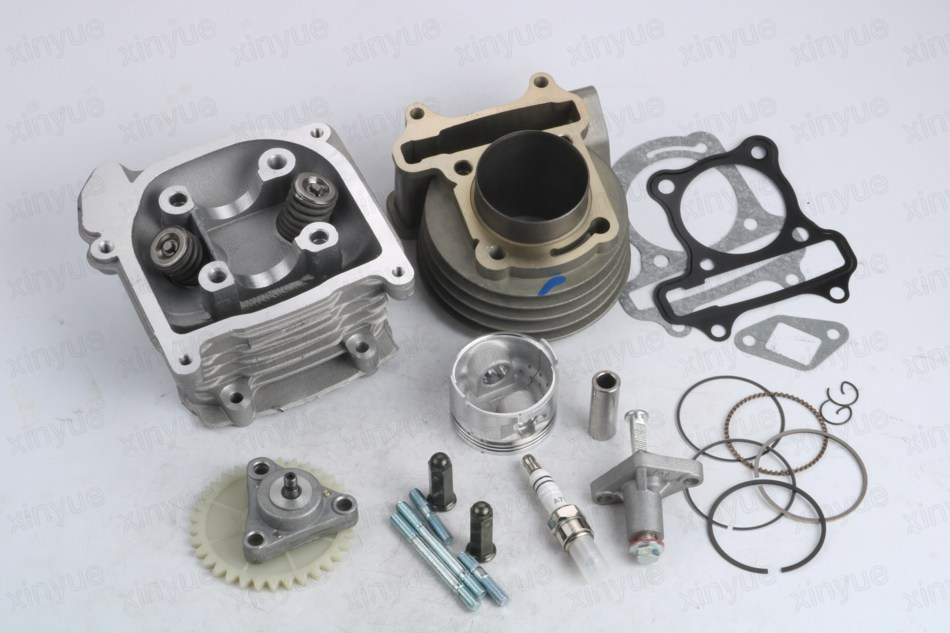 80cc Big Bore Performance Kit GY6 50cc 139QMB Chinese Scooter Parts 47mm Bore gy6 80cc 47mm cylinder kit