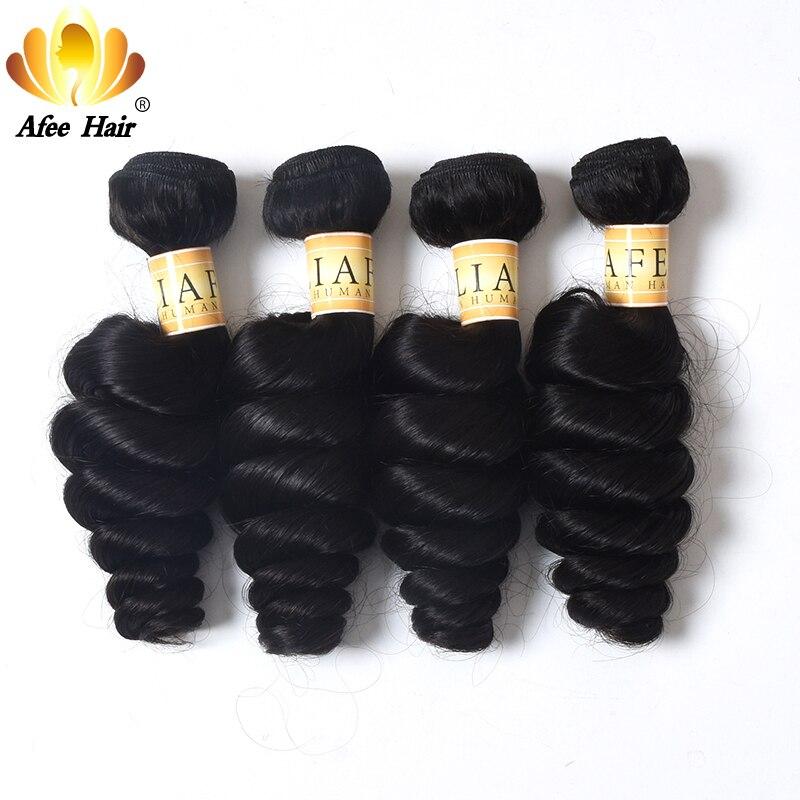 Aliafee Haar Brasilianische Haarwebart Bundles lose Welle 4 Bundles Deal 8 28 zoll Nicht Remy Haar 100% menschliches Haar-in 3/4-Paket aus Haarverlängerung und Perücken bei AliExpress - 11.11_Doppel-11Tag der Singles 1